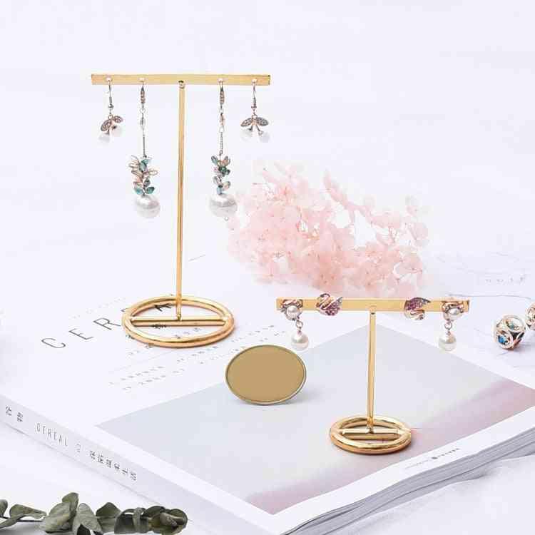 Earrings Display Stand Gold Earrings