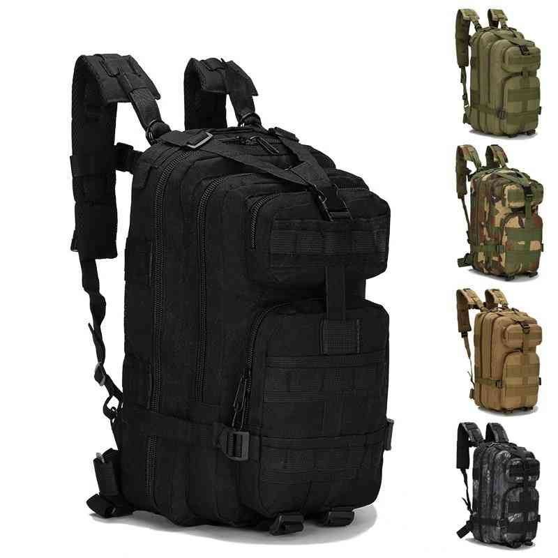 Unisex Military Tactical Backpack, Camping Hiking Fishing Bags