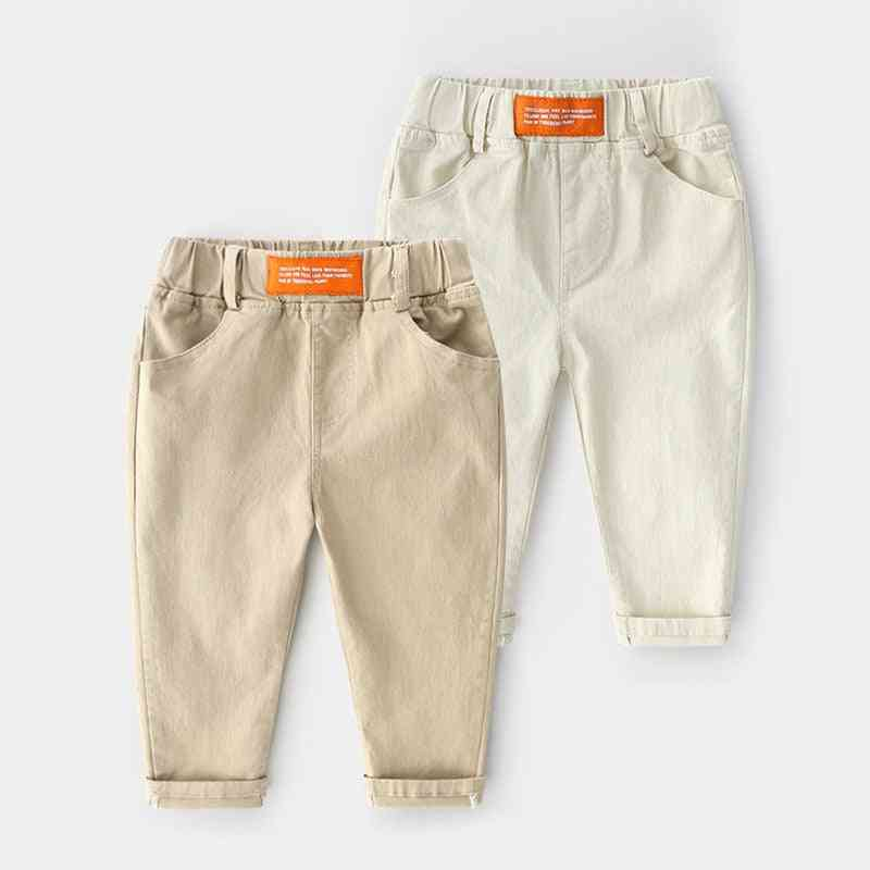 Spring New Baby Boy Trousers Pants Cotton Long Trousers Pants