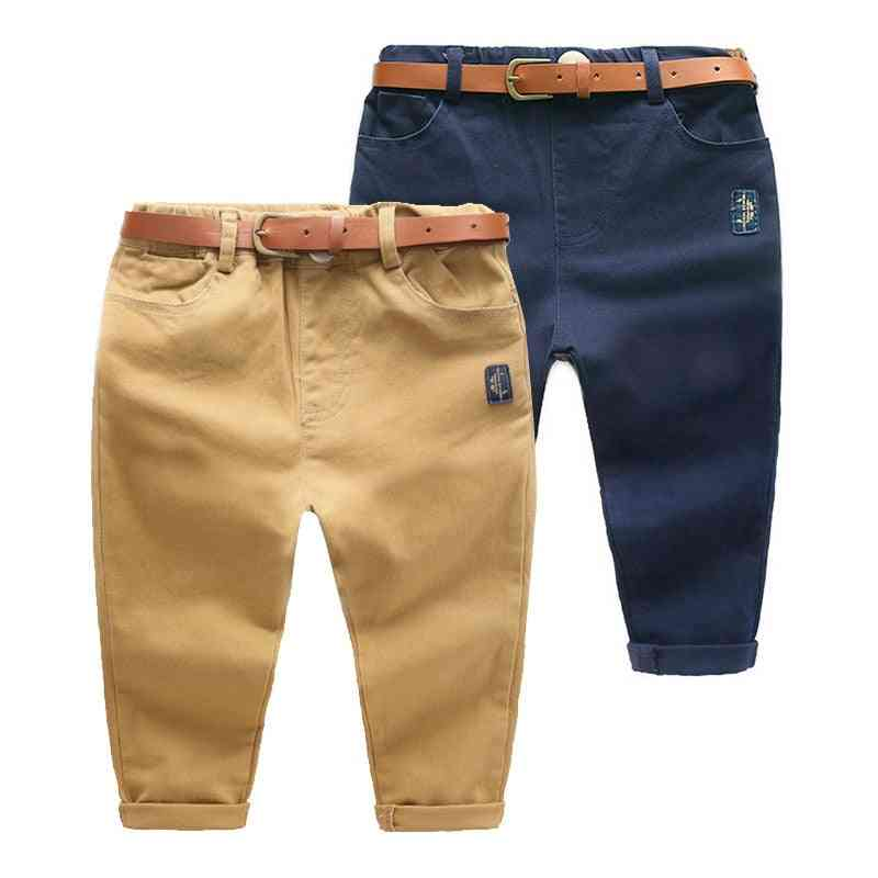 Children's Clothing Solid Color Baby Cotton Long Pants