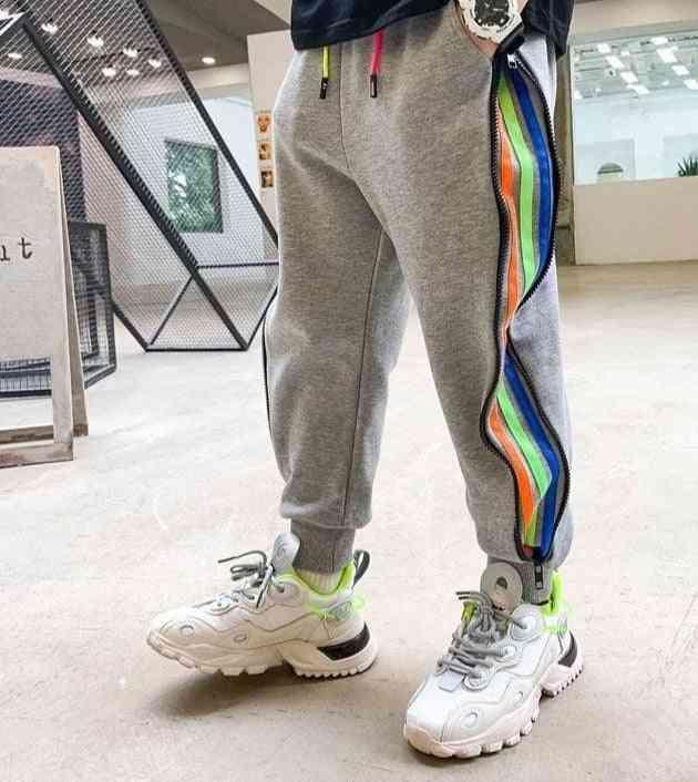 Pants Fashion Sport Pants Spring Fall Teenage Cotton Sweatpants Boy