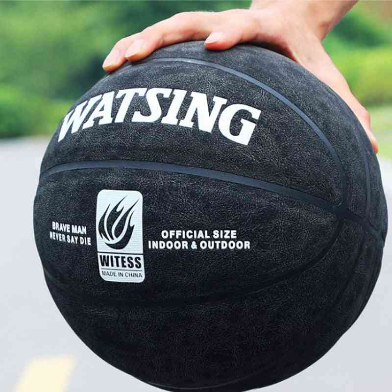 Genuine Indoor And Outdoor Soft Leather Basketball