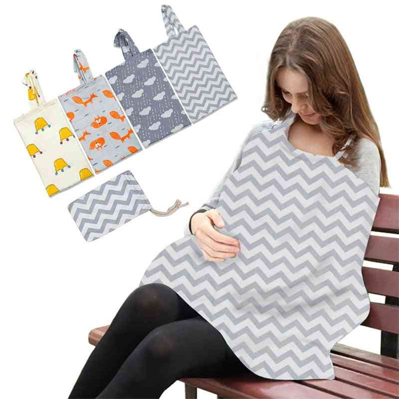 Breathable Mother Breastfeeding Cover Cape Apron