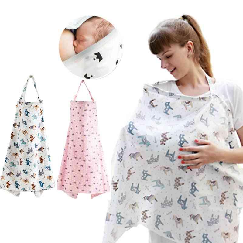 Baby Breastfeeding Nursing Poncho Cover Up Adjustable Privacy Apron