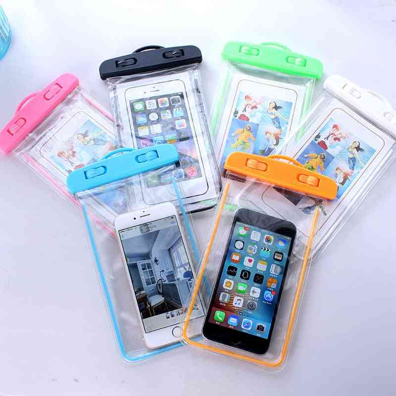 Summer Luminous Waterproof Pouch, Phone Case Cover