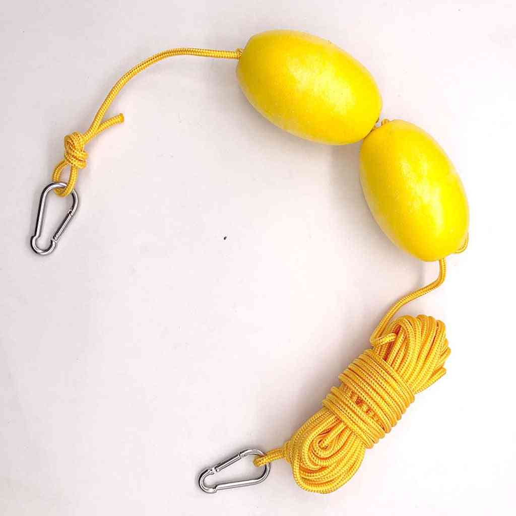 Kayak Throw Line With Double Floats