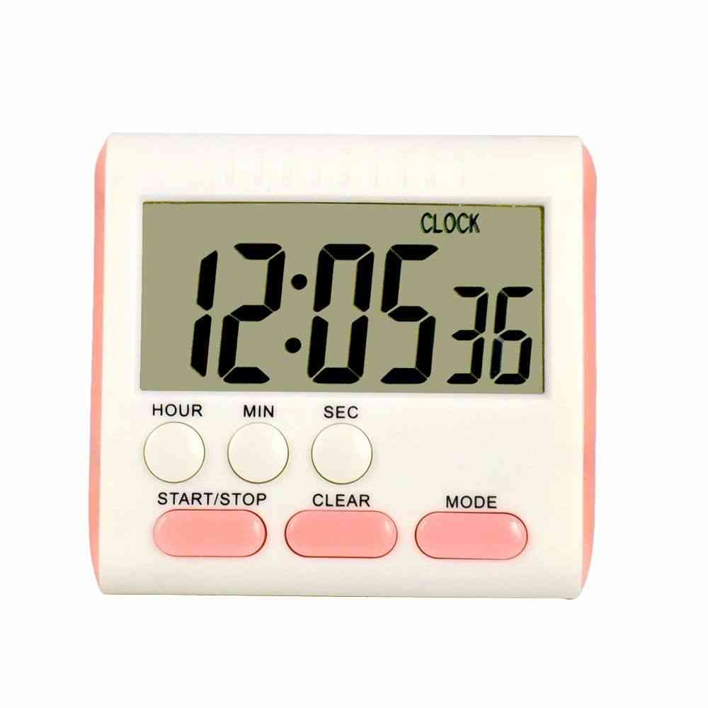 Magnetic Wall Large Digital Lcd Kitchen Egg Cooking Time Timer