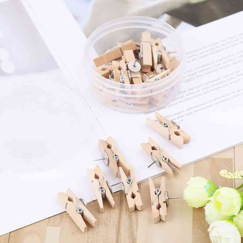 Wood Clothespins Wooden Laundry Clothes Pins