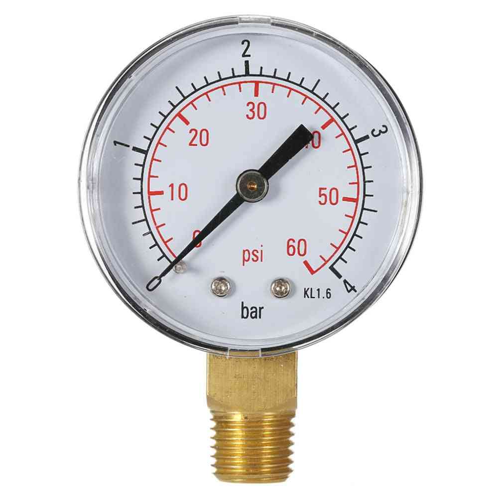 Pool Spa Filter Water Pressure Gauge Mini Pipe Thread
