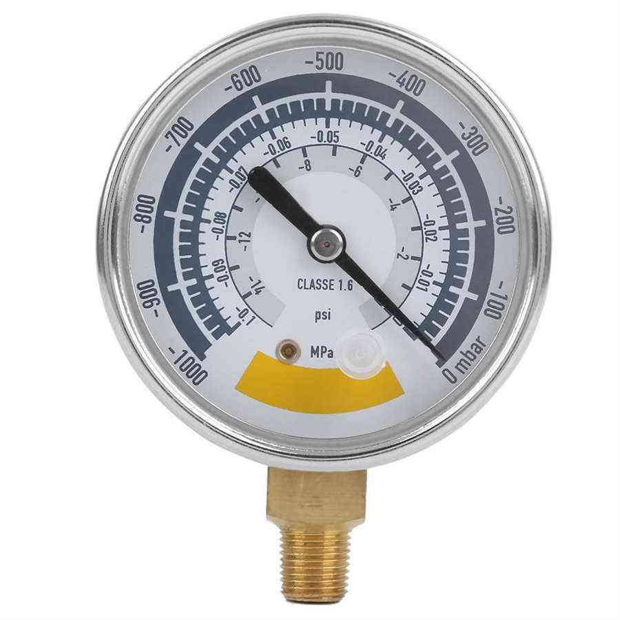 Accurate Air Gauge Instrument For Vacuum Pump