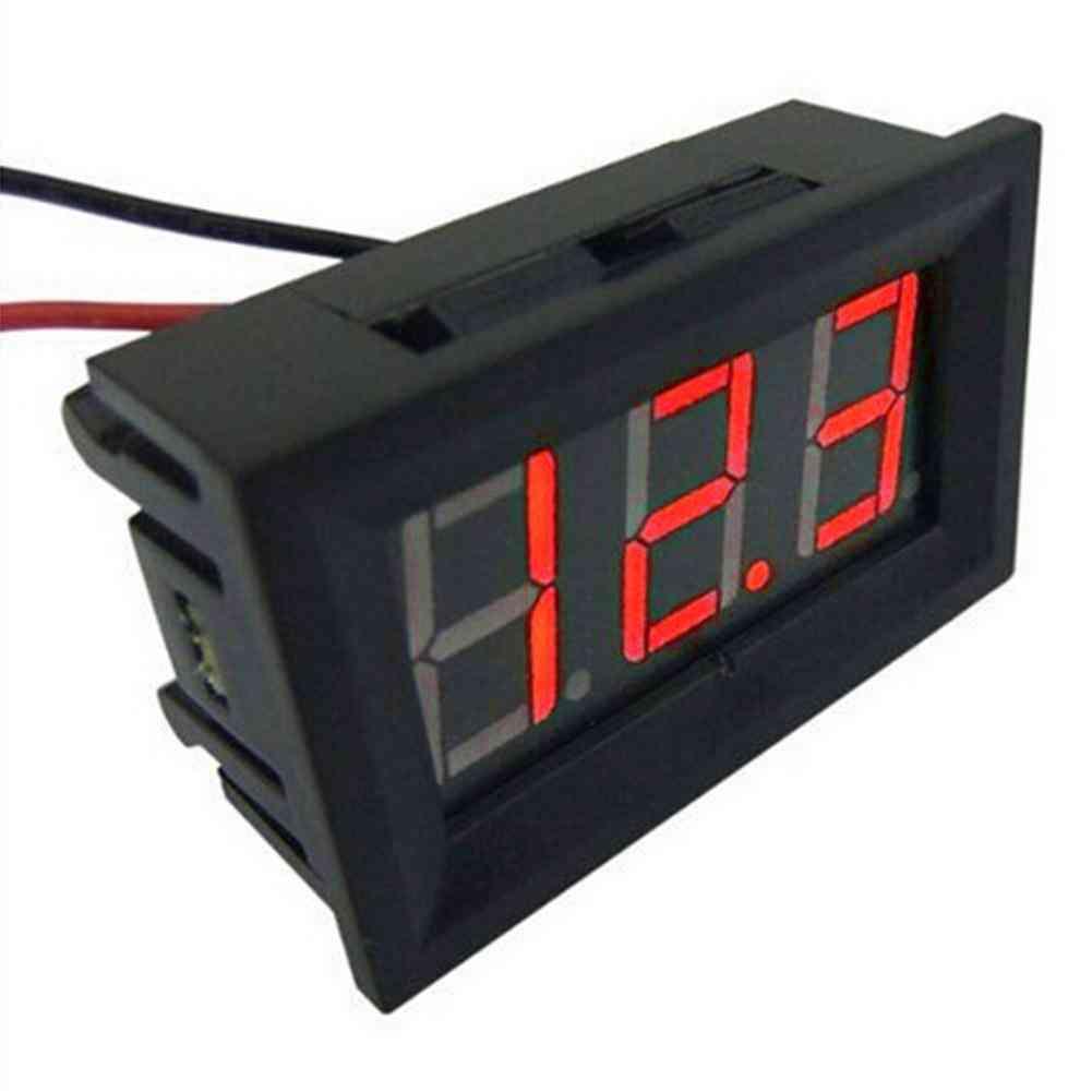 Digital Voltmeter Wire Digital Voltmeter Voltage Panel