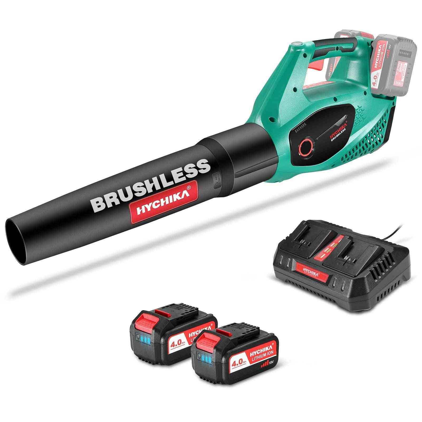 36v Brushless Leaf Blower Cordless Lithium Battery Cleaning Dust Collector