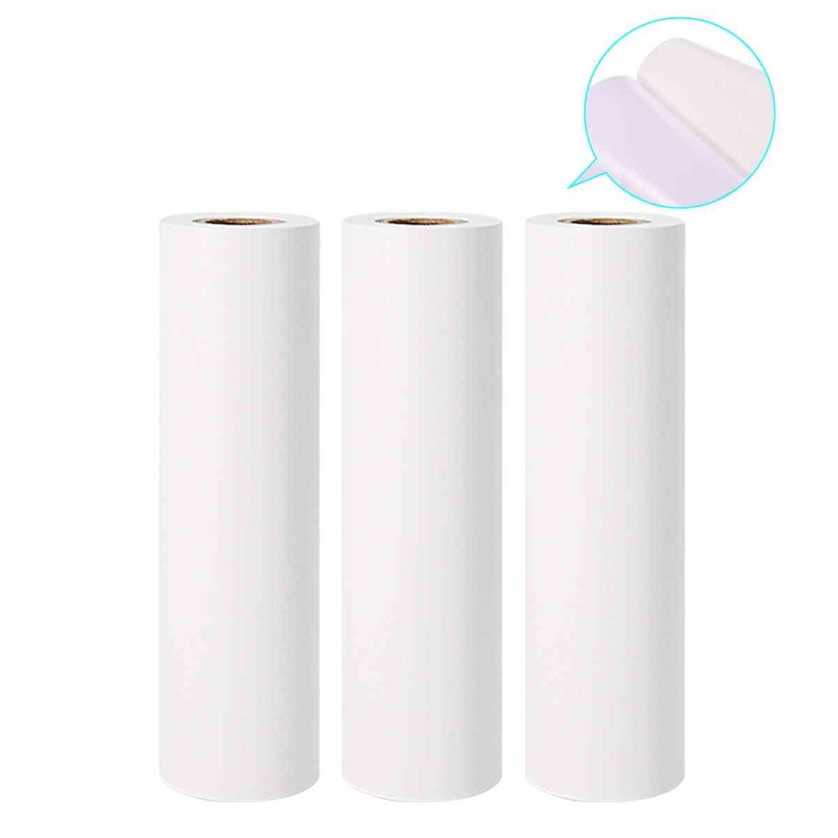 White Self-adhesive Thermal Paper Roll Printable Sticker