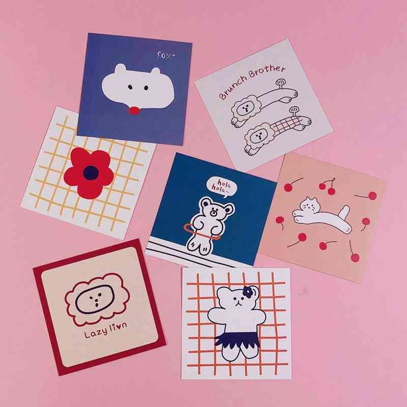 Animal Series Of Postcards