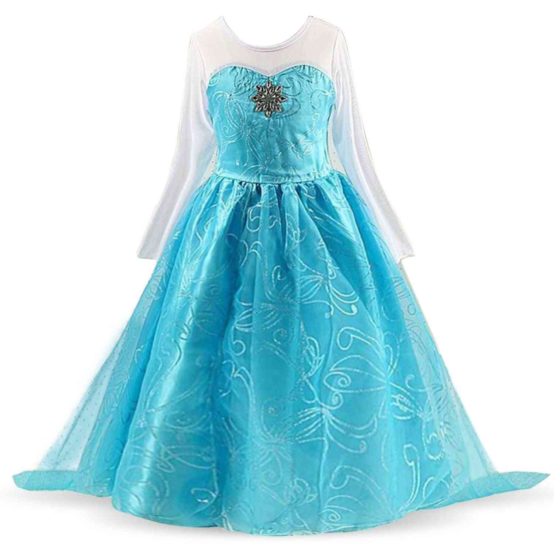 Girls Princess Party Cosplay Dress