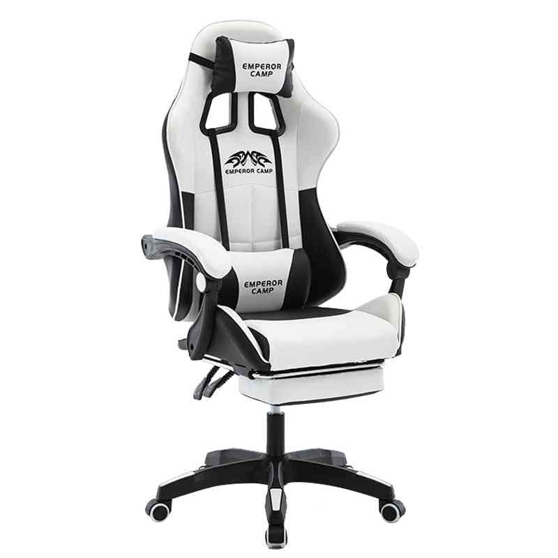 Wcg Gaming High Quality Gaming Chair With Foot Rest
