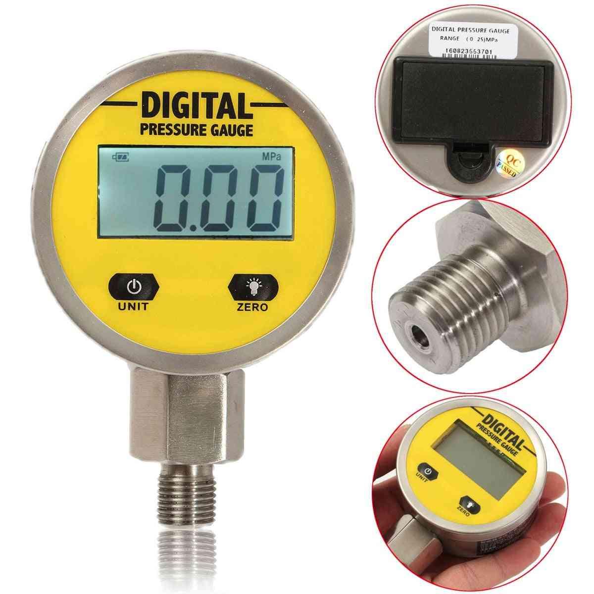 Digital Display Pressure Gauge Test Meter