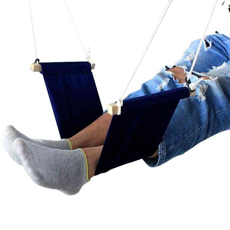 Portable Office Leisure Home Office Foot Rest Desk Feet Hammock Surfing The Internet Hobbies Outdoor Rest