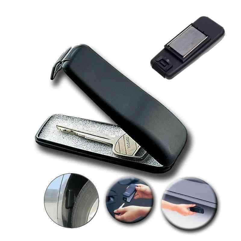Magnetic Car Bike Stash Safe Lock Spare Key Box