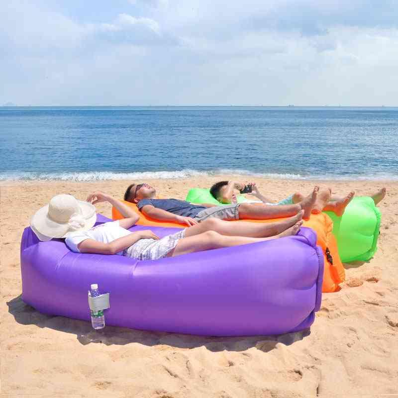 Camping Inflatable Sofa Lazy Bag 3 Season