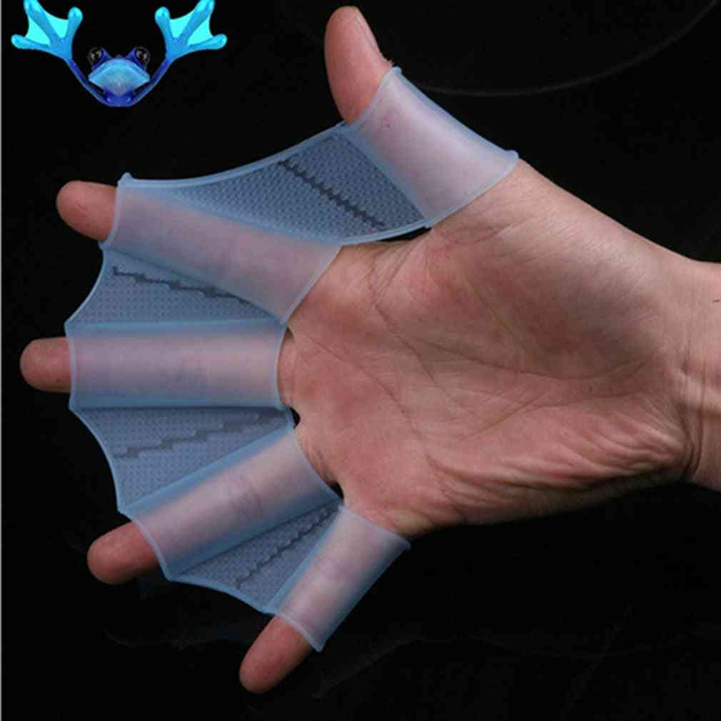 Silicone Training Paddle Dive Glove