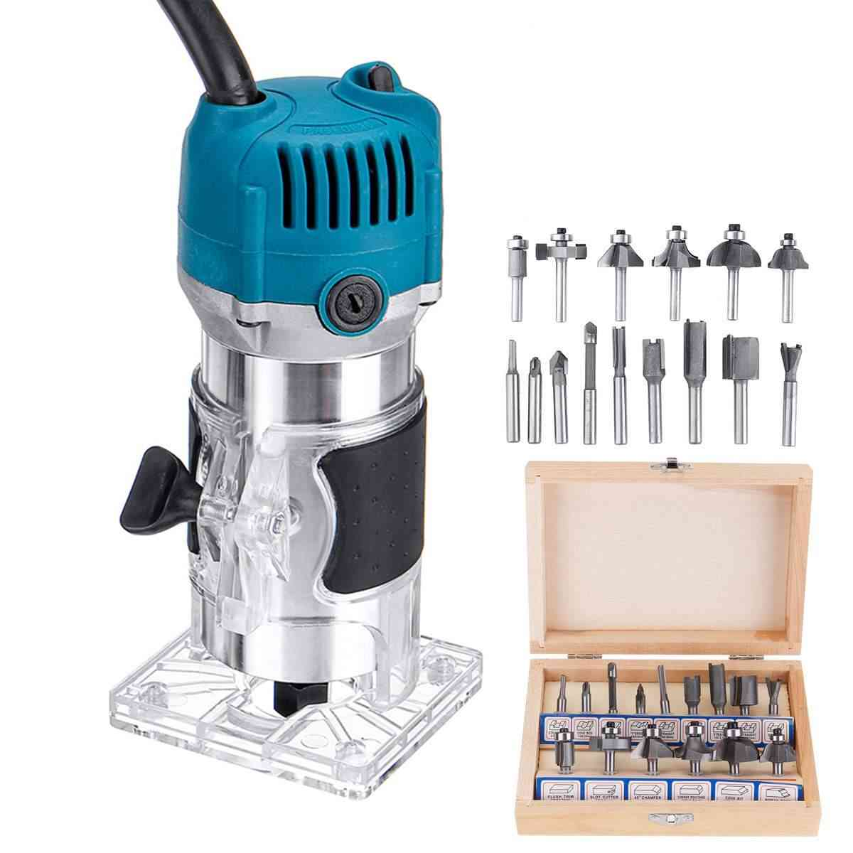 Wood Electric Trimmer Woodworking Router Carving