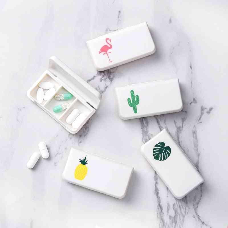 3 Grids Portable Mini Pill Case Medicine Dispenser Box