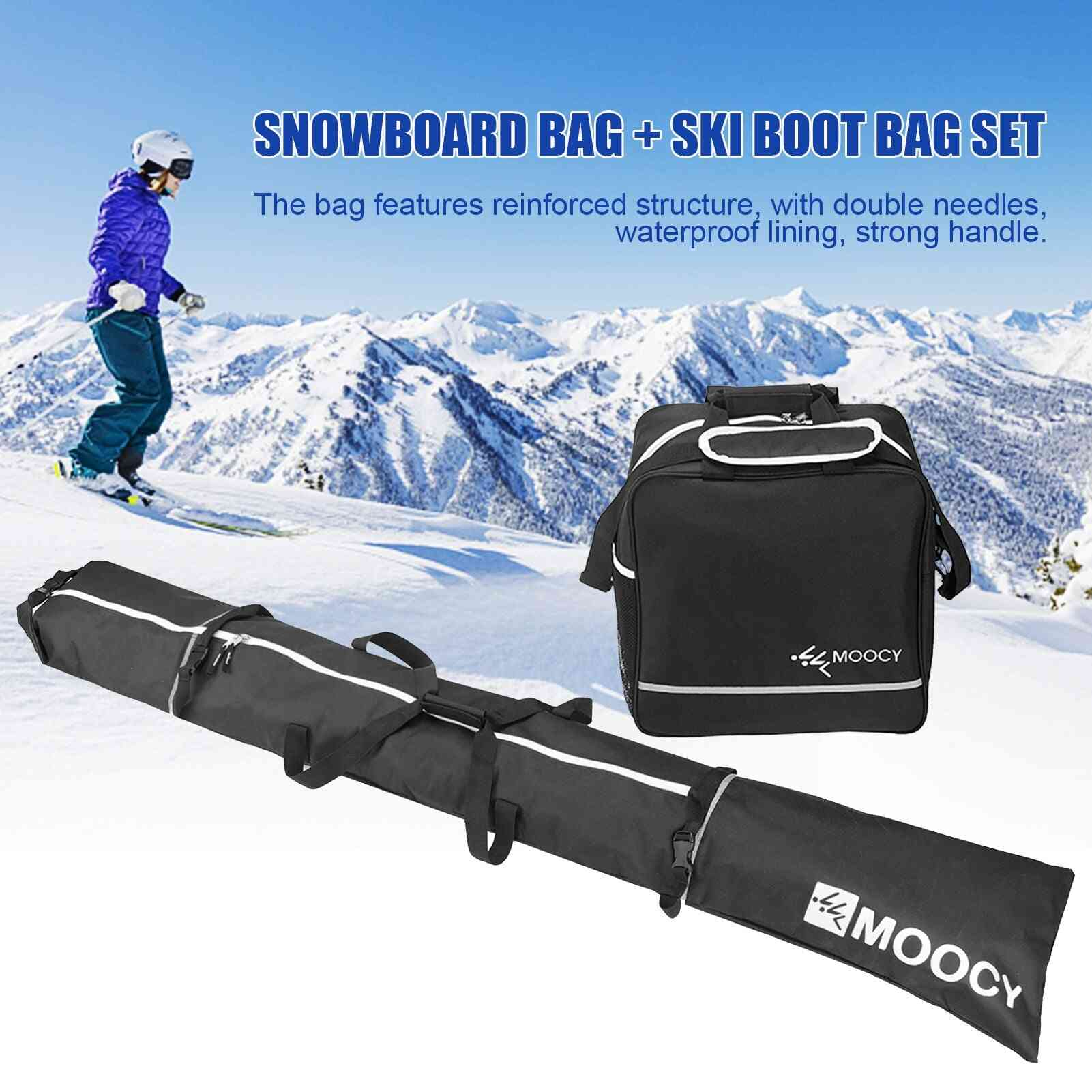 Snowboard Padded Storage Boots Bag