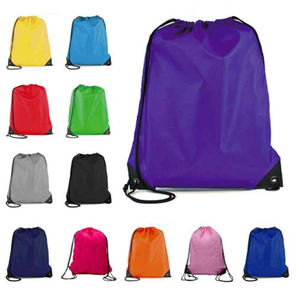 Outdoor Drawstring Backpack Football Basketball Drawstring Bags For Men Women Gym Sports