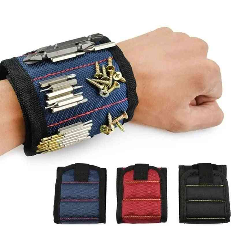 Strong Magnetic Wristband Adjustable Tool