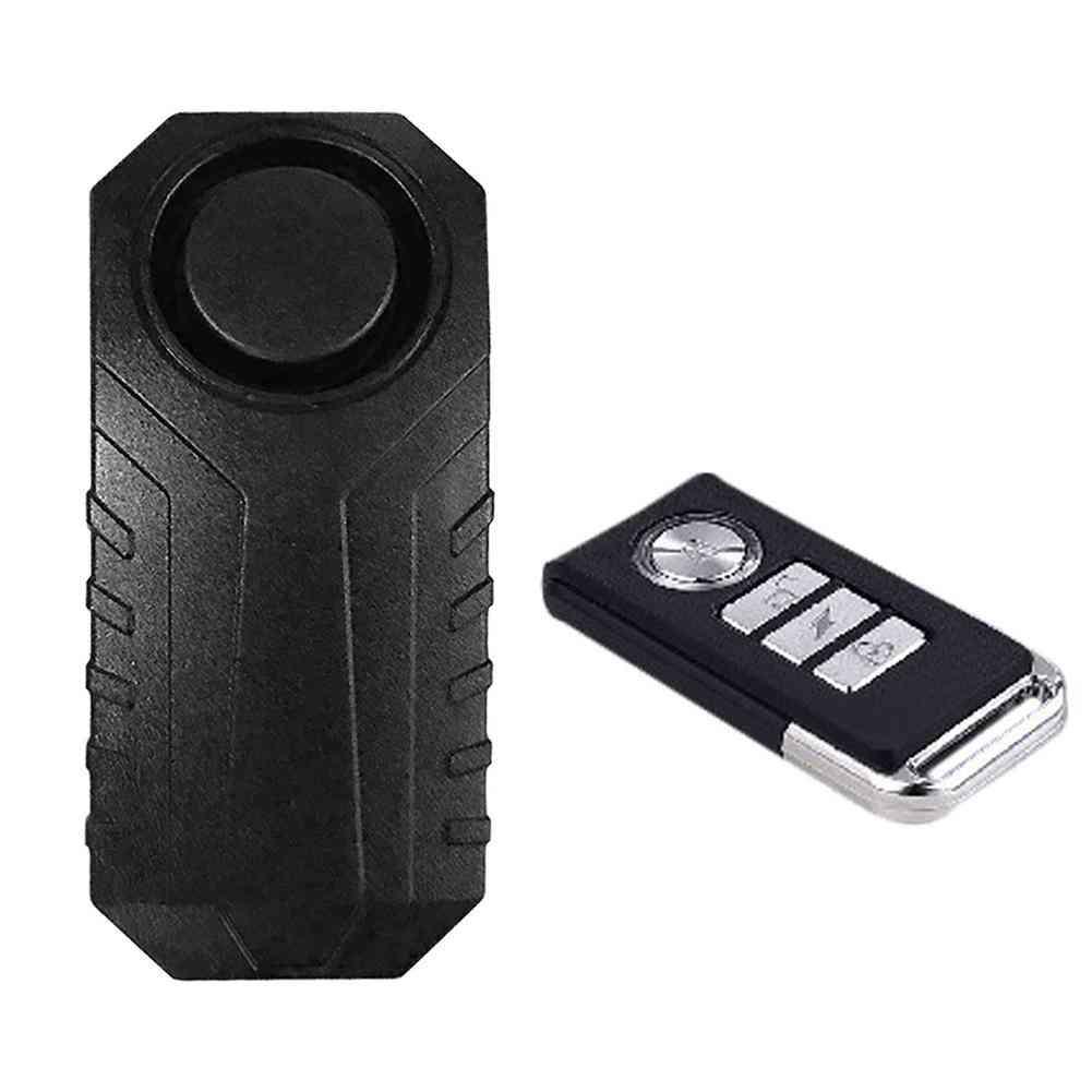 Wireless Bike Alarm With Remote Control Alarm Lock