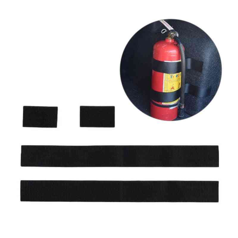 Fire Extinguisher Car Holder Universal Strap Down Design