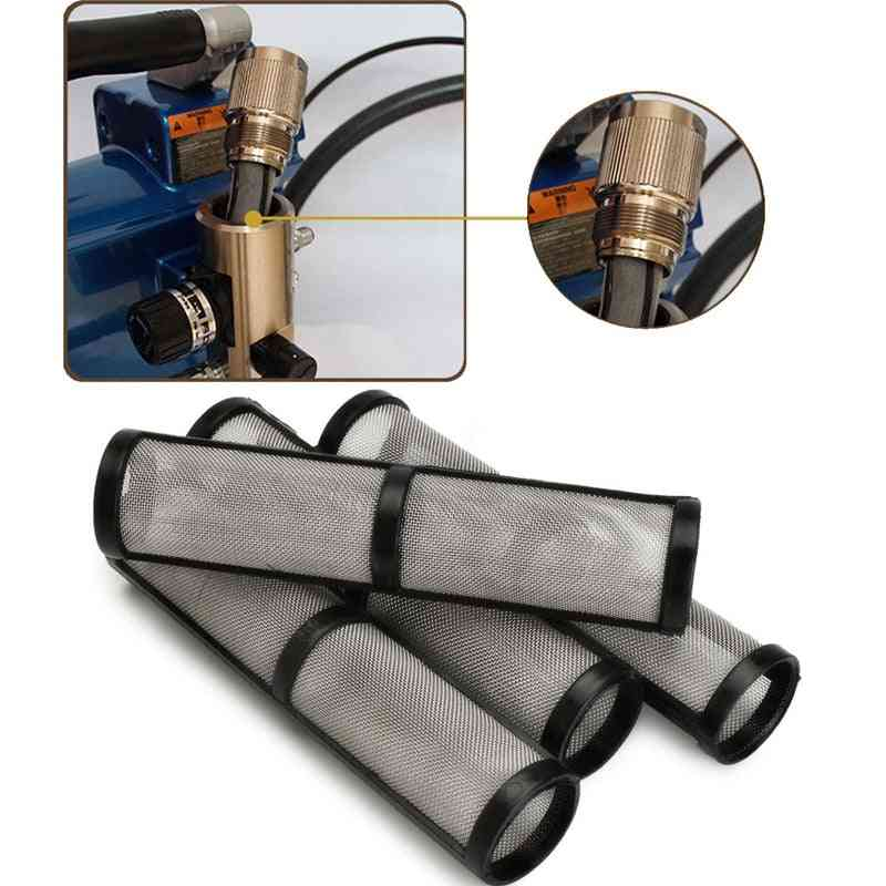 Black Mesh Airless Spray Pump Filter For Greco