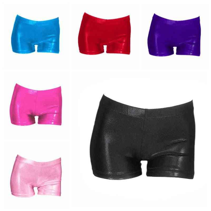 Small Gymnastics Suit Bright Color Shorts
