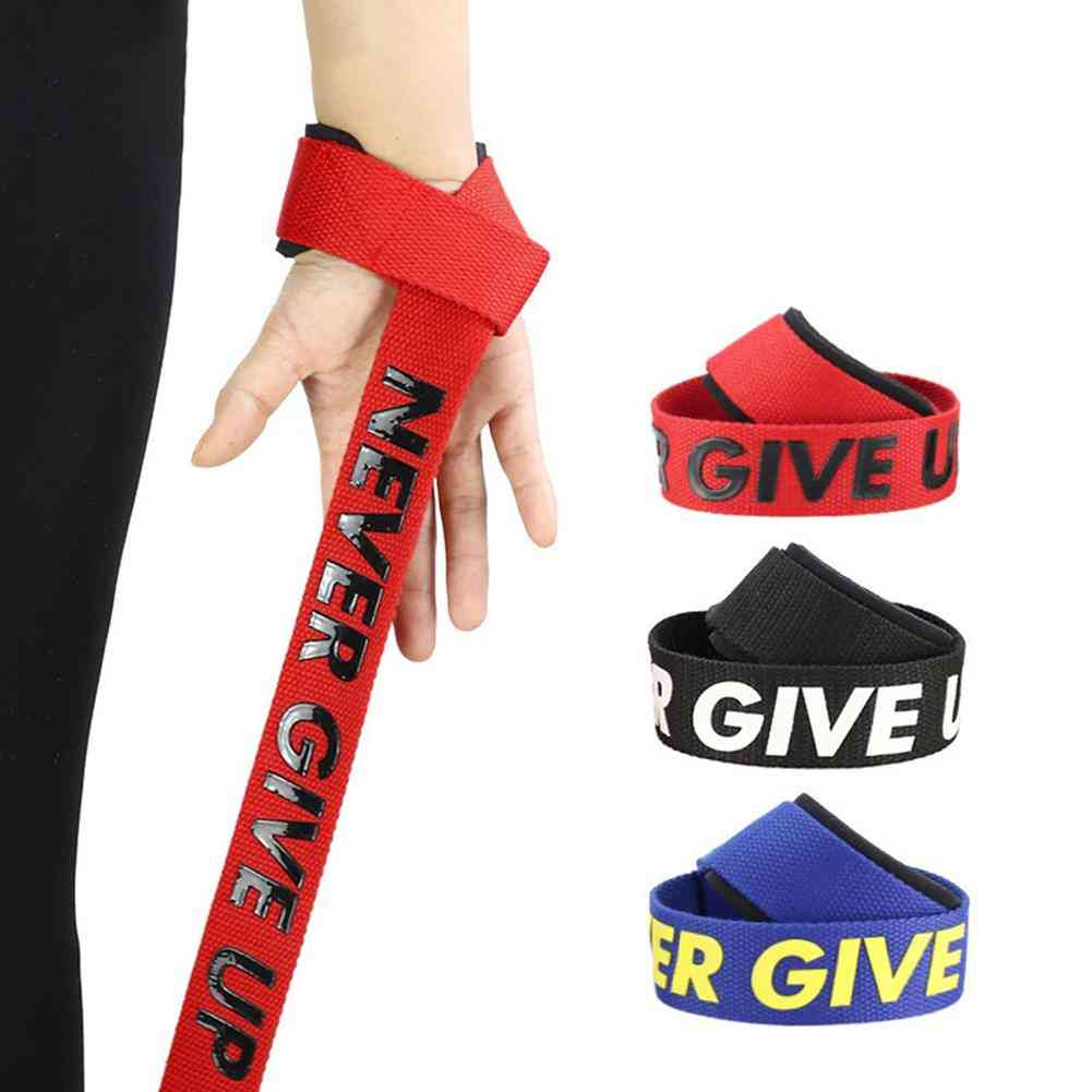 Weight Lifting Belt Gym Fitness Weight Lifting Hand Grip