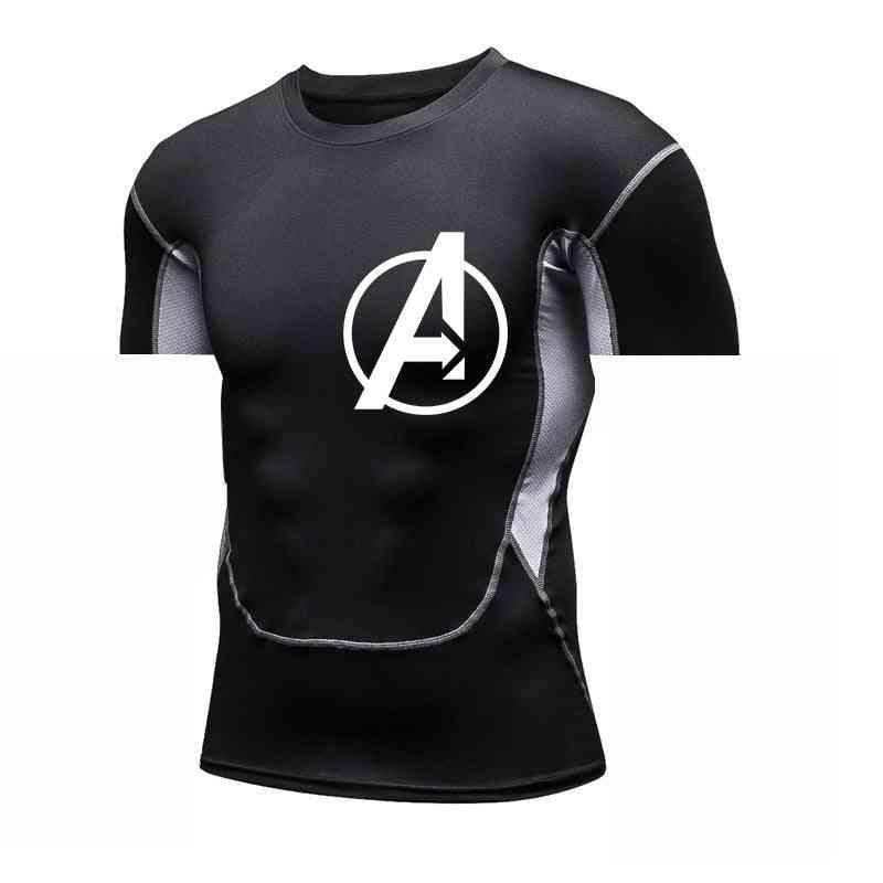Men Sport Exercise Shirts