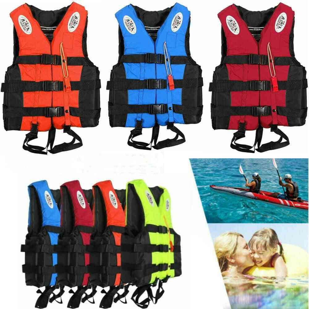 Universal Outdoor Swimming Boating Skiing Driving Vest