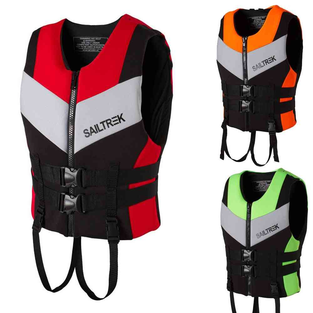 Life Jacket Adult Life Vest Water, Boating Swimming Safety Life Vest Suits