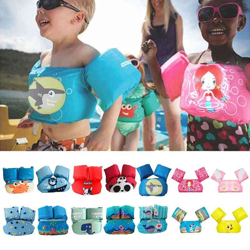 Baby Swimming Arm Ring Swim Rings Float Cartoon Arm Sleeve Life Jacket