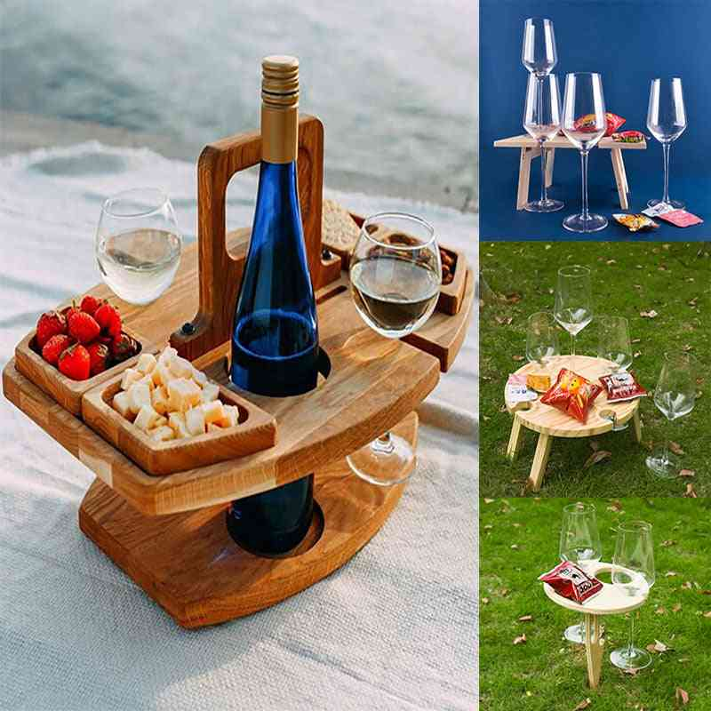 Portable Wooden Picnic Table