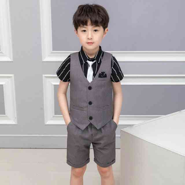 Summer School Suits Vest Dress For Prom