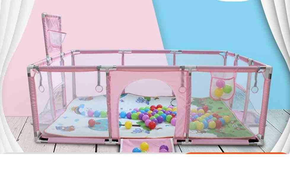 Children's Ball Pool Baby Playground Gym With Basketball Football Field