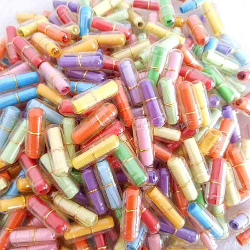 Bottle Message Cute Capsule Letter Love Pill Full Clear