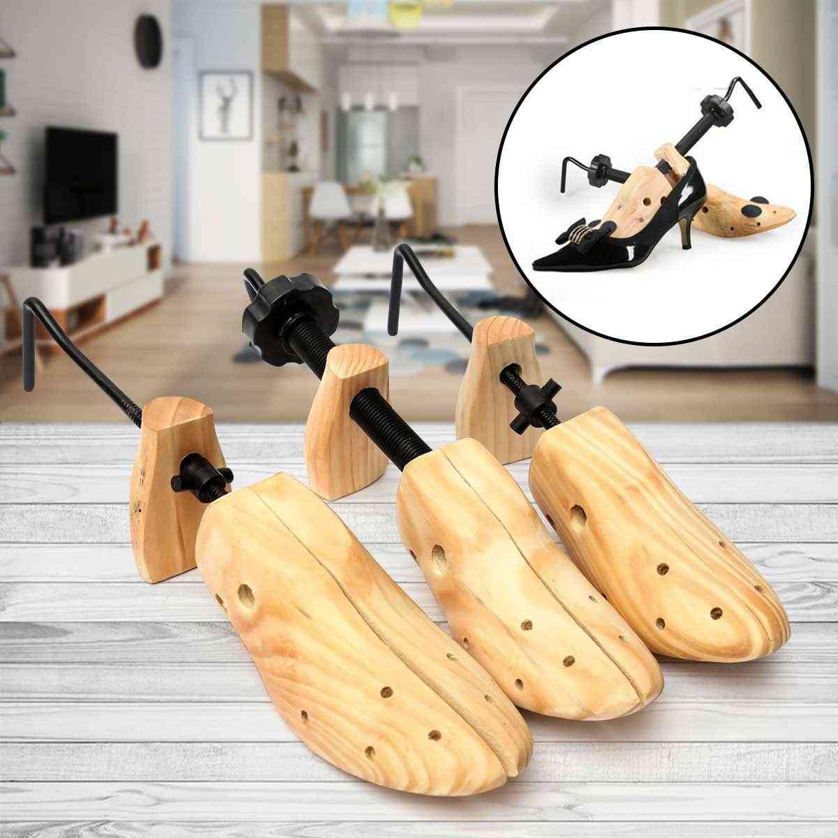 Wooden Shoes Tree Shaper Rack,