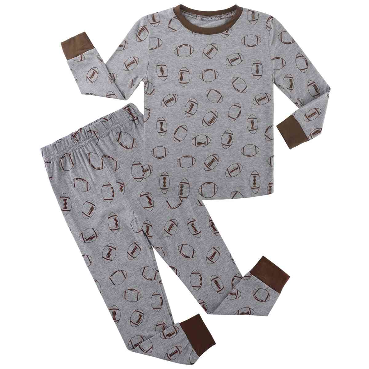 Christmas Pajama Sets, Toddler Sleepwear Long Sleeve Pajama Sets