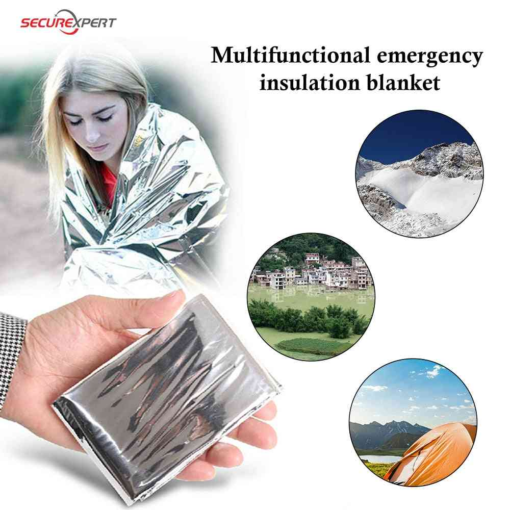 Emergency Blanket Winter Curtain Water Proof Survival Rescue Blanket/first Aid