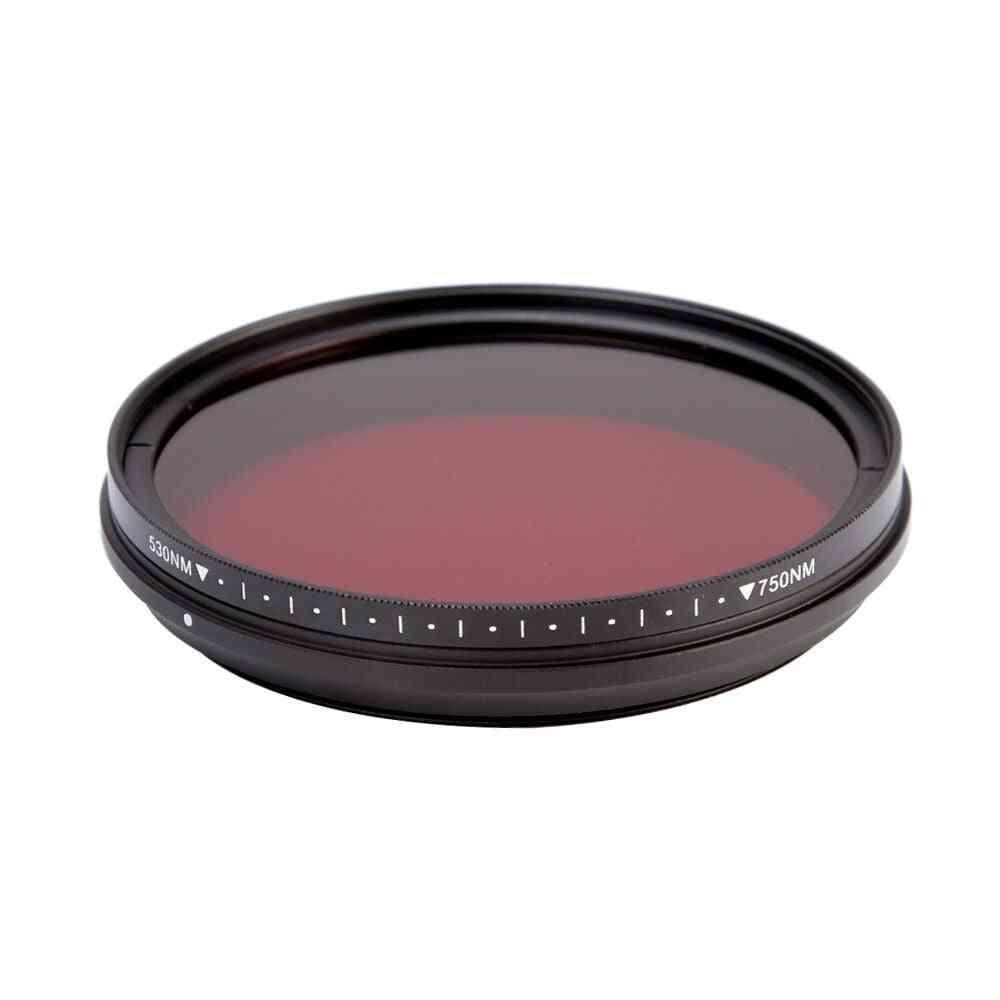 Adjustable Ir Lens Filter Pass Infra-red