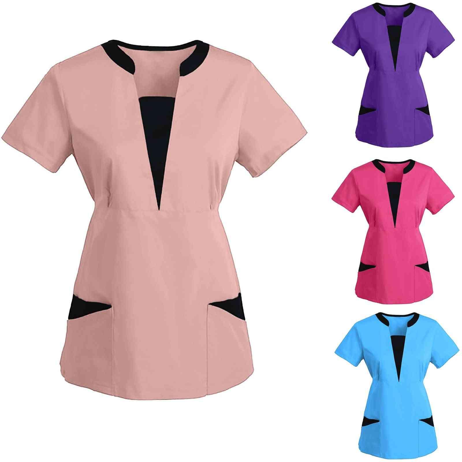 Work Wear Beauty Salon Spa Scrub Shirt Uniform