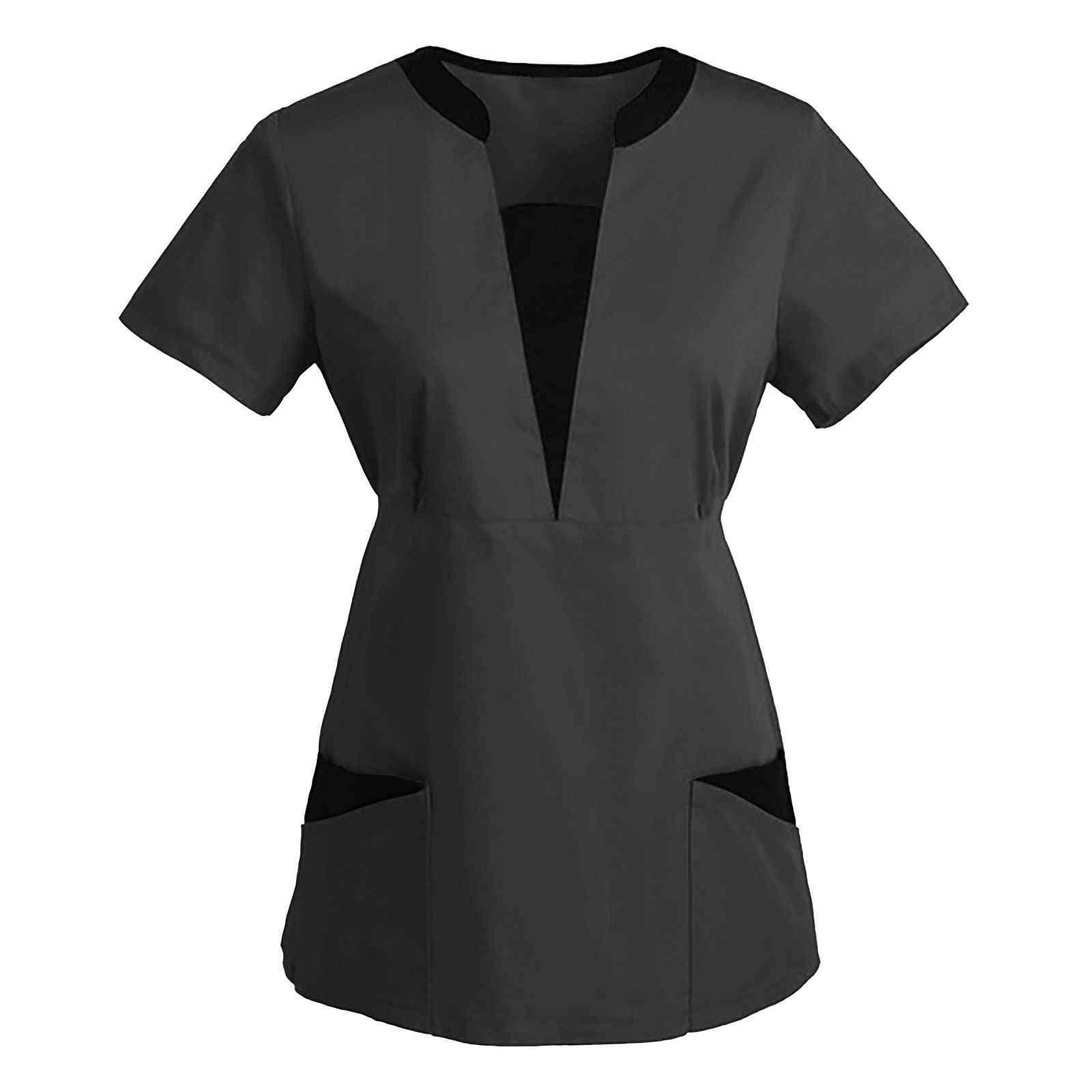Beauty Salon Spa Scrub Shirt Uniform