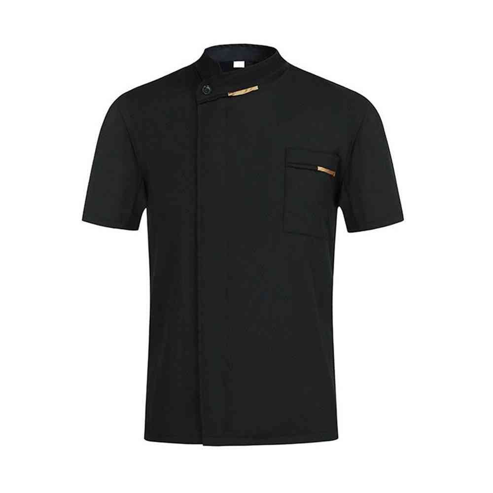 Chef Waiter Uniform Short Sleeve Kitchen Restaurant Cook Chef Jaket
